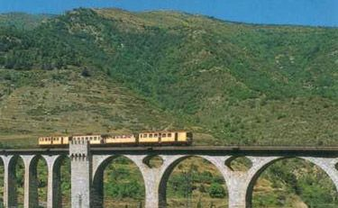 Excursion en train jaune