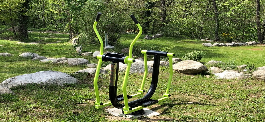 Espace fitness patineur Camping DEL BOSC 2